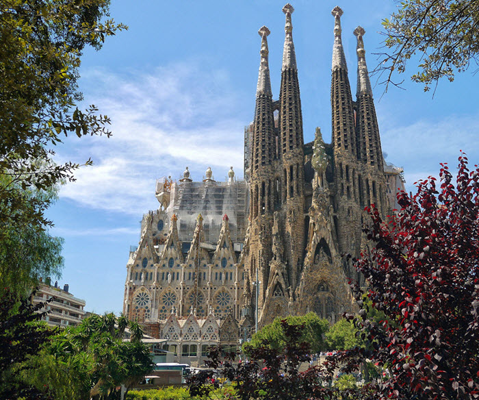 Sagrada Familia tickets home